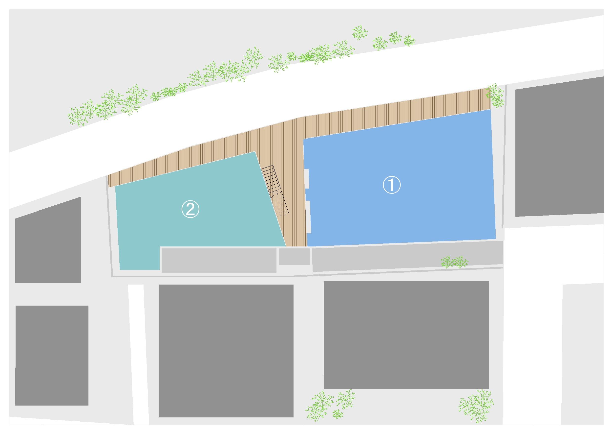 Terrace Kukuna 敷地